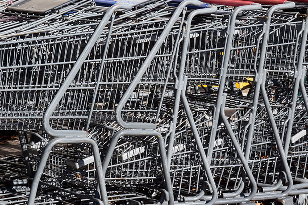 shopping-cart-cleaning- Glendale